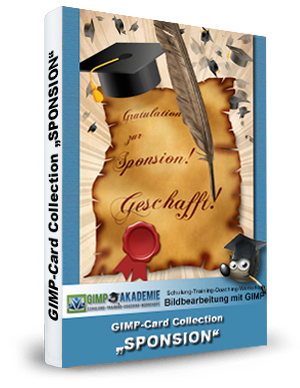 GIMP-AKADEMIE-Card Collection - SPONSION book
