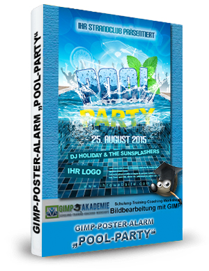 GIMP-AKADEMIE-POOL PARTY book