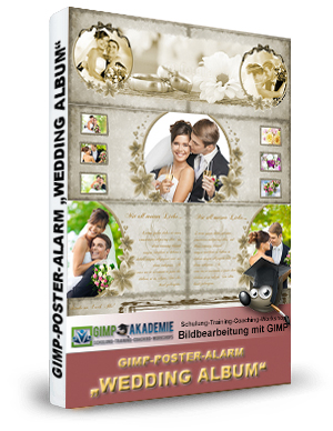 GIMP-AKADEMIE-WEDDING ALBUM book