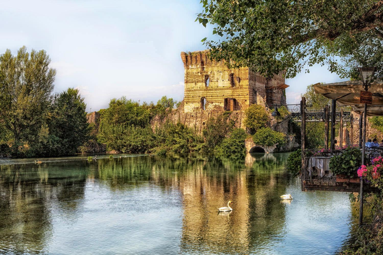 Landschaft; Italien; Verona,Valleggio sul Mincio | Landscape; Italy; Europe;
