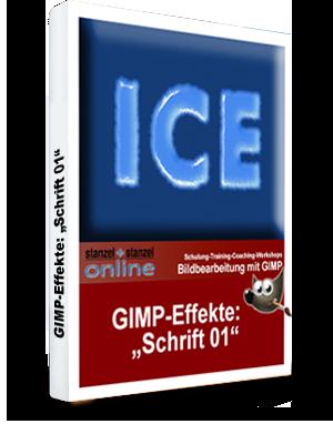 GIMP-AKADEMIE-Schriften Effekt 01